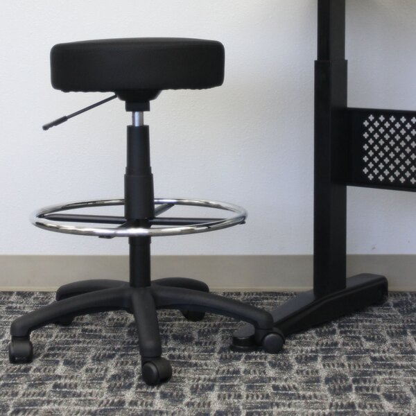 Height Adjustable Lab Stool by Boss Office Products