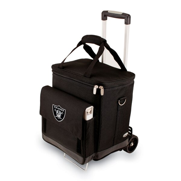 NFL Digital Print Cellar with Trolley in Black by LEGACY