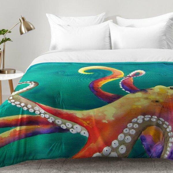 Octopus Comforter Set