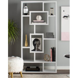 Humble Geometric Bookcase by Mercury Row Top Reviews