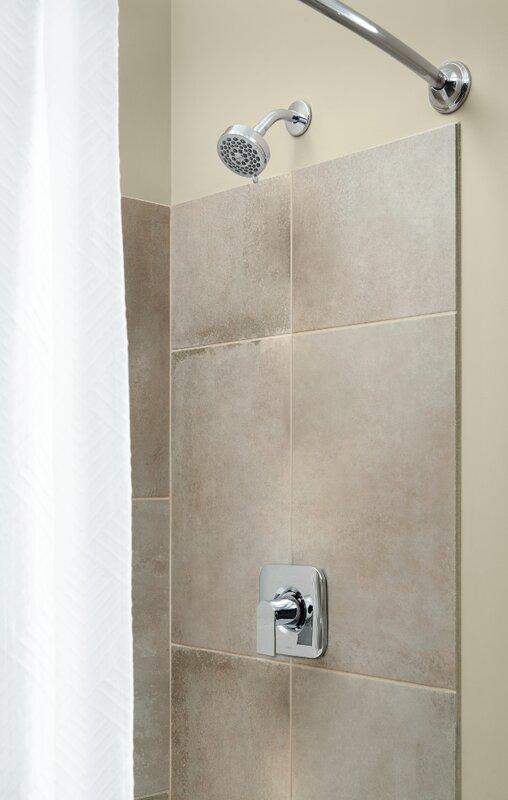 shower faucet. Genta Shower Faucet Lever Handle Moen  Reviews Wayfair