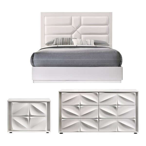 Baconton Platform Configurable Bedroom Set By Orren Ellis by Orren Ellis Top Reviews
