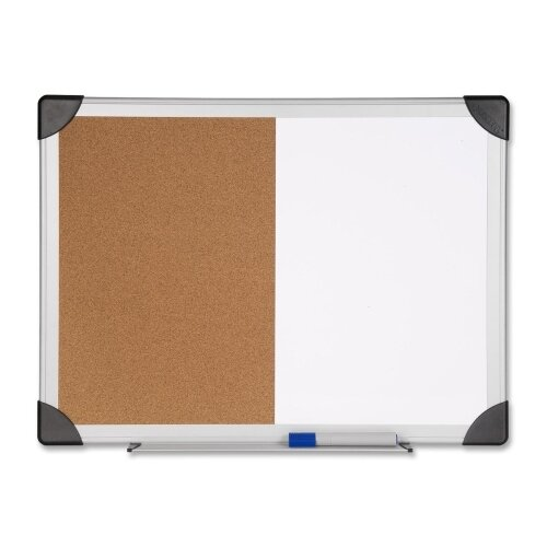 Wall Mounted Combination Bulletin Board by Lorell