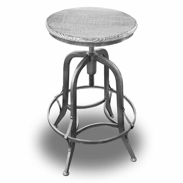 Tamia Adjustable Height Swivel Bar Stool (Set Of 4) By Williston Forge