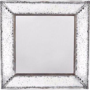 Alcott Hill Kimbler Square Shaped Accent Mirror