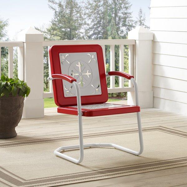 Jorah Patio Chair (Set of 2) by Latitude Run Latitude Run