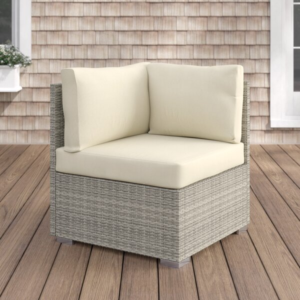 Heiner Fabric Outdoor Patio Chair with Sunbrella Cushions by Highland Dunes