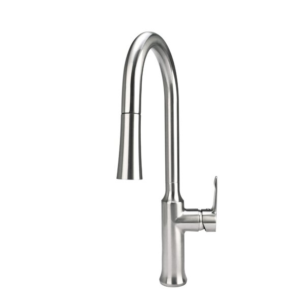 Pull-Down Single Handle Kitchen Faucet by Fontaine by Italia
