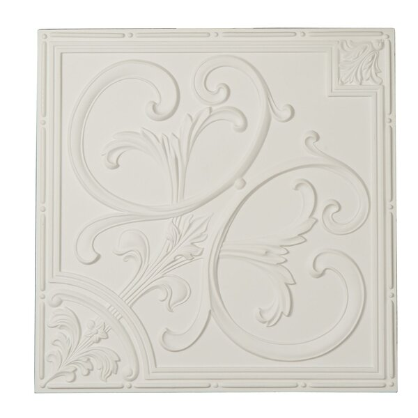 Odessa 24 H x 24 W x 0.75 D Ceiling Tile by Ekena Millwork