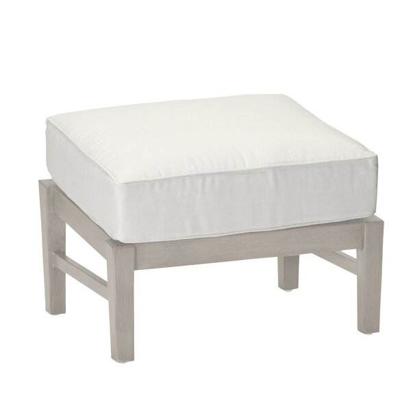 Croquet Ottoman with Cushion by Summer Classics