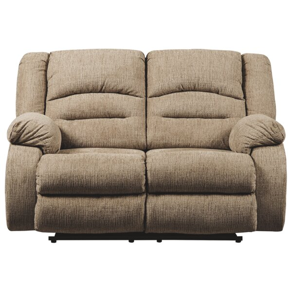 Katniss Reclining Loveseat with ADJ Headrest by Red Barrel Studio