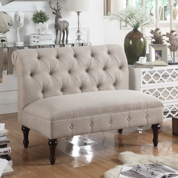 Lauryn Tufted Chesterfield Loveseat by Ophelia & Co.