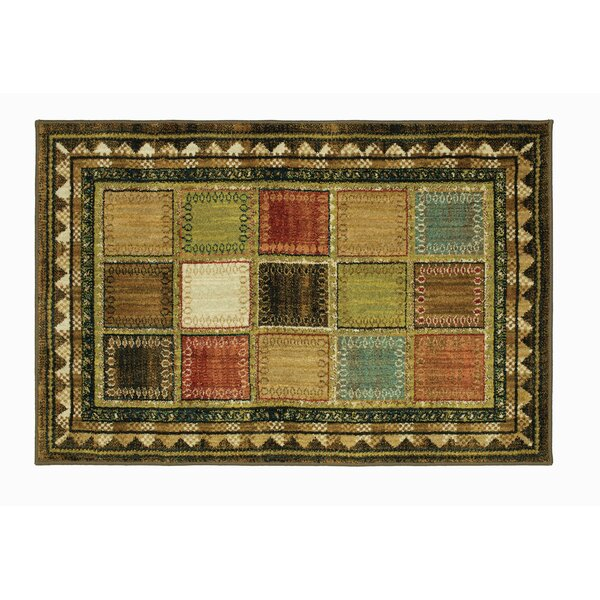 Zephyr Tobacco Area Rug by Millwood Pines