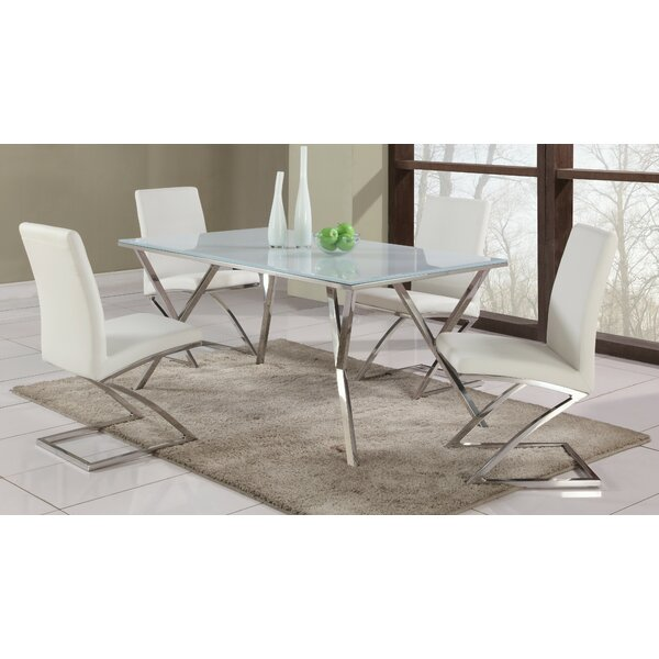 Decimus 5 Piece Metal Dining Set By Orren Ellis Amazing