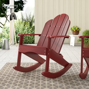 Sawyerville Adirondack Rocker Chair Laurel Foundry Modern Farmhouse