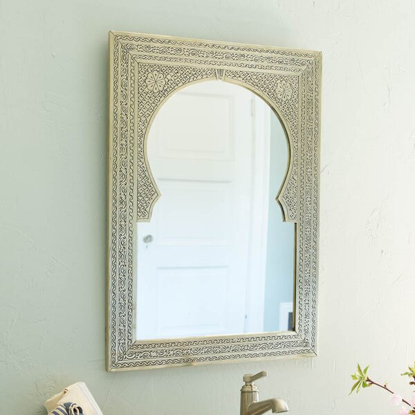 Brass Antique Wall Mirror by Casablanca Market