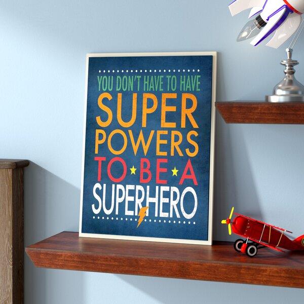 Stella Superhero Wall Plaque by Viv + Rae