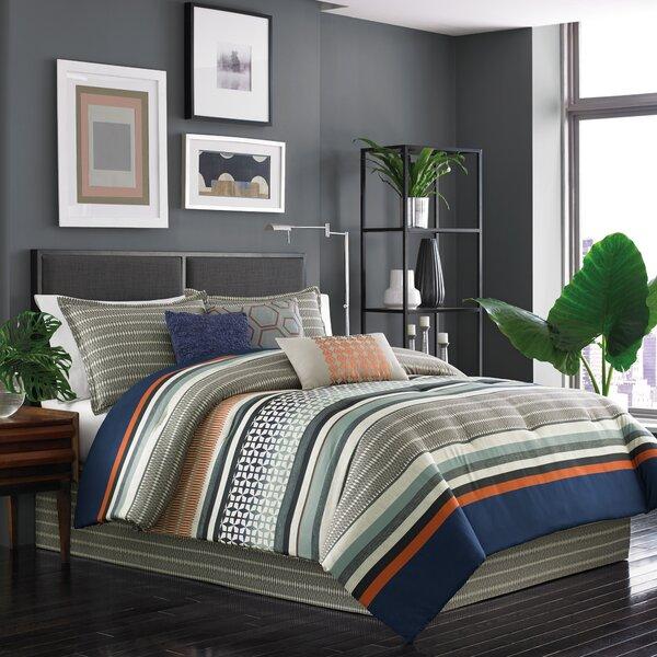 Sven 7 Piece Reversible Comforter Set by Dansk