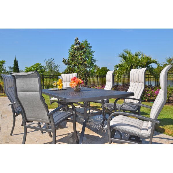 Terrabay 7 Piece Dining Set by Outdoor Masterpiece