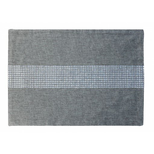 Rhinestone Stripe Placemat by Sparkles Home