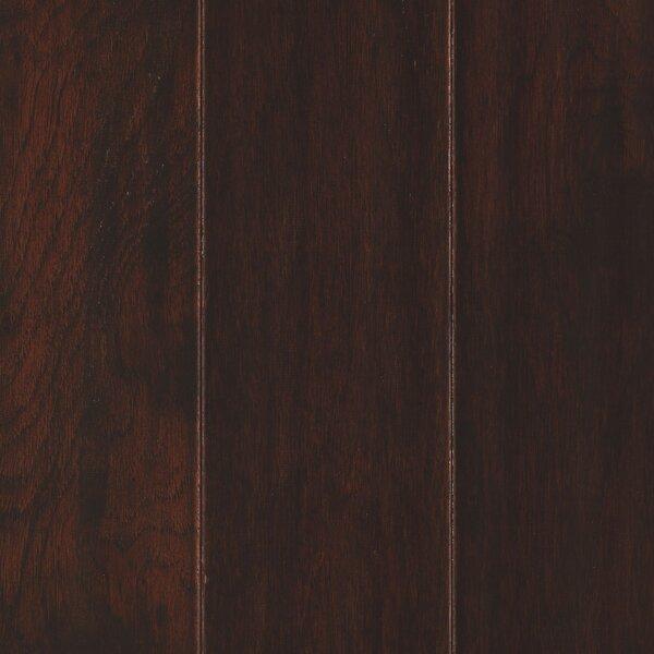 Kendra 5 Engineered Hickory Hardwood Flooring in Brown by Welles Hardwood