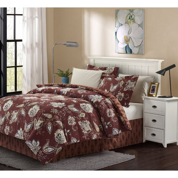 Blanchette Reversible Comforter Set by Charlton Home