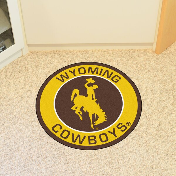 NCAA University of Wyoming Roundel Mat by FANMATS