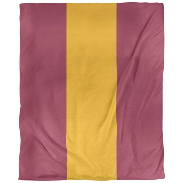 Arizona Football Stripes Single Duvet Cover