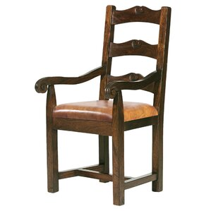 Tuscan Genuine Leather Upholstered Dining Chair