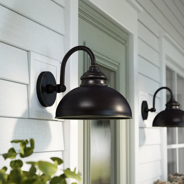 Ellwood Outdoor Barn Light by Gracie Oaks