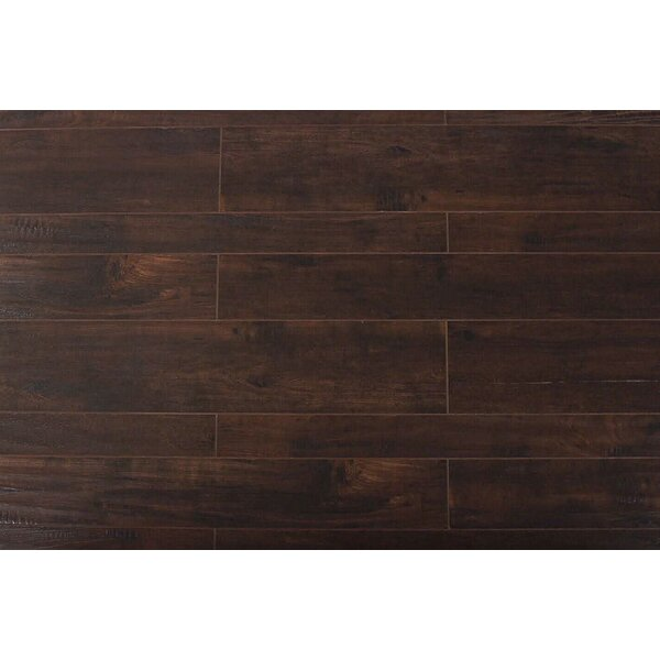 Arletta  13 x 48 x 12mm Oak Laminate Flooring in Blackmoon by Serradon