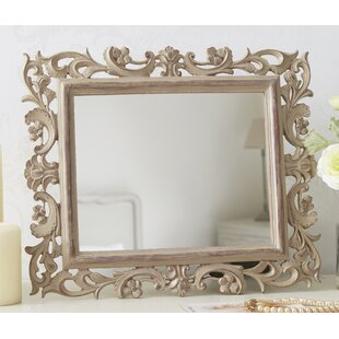 Captivating Lumpkin Carved Wood Effect Accent Mirror Ideas