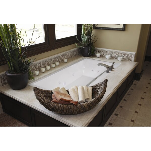 Designer Eileen 74 x 38 Whirlpool Bathtub by Hydro Systems