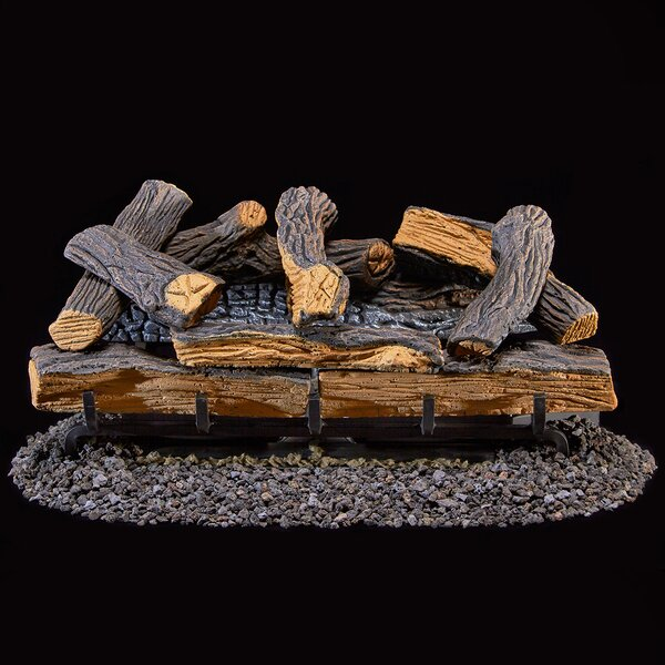 Vent-Free Natural Gas/Propane Logs by Duluth Forge Duluth Forge