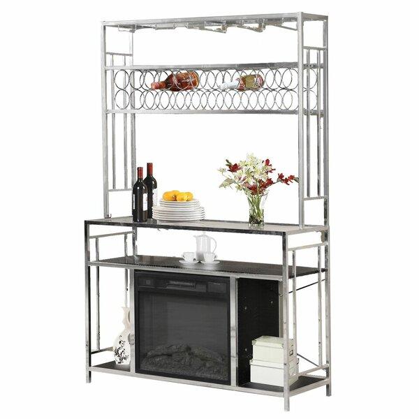 Locascio Bar with Wine Storage by Latitude Run Latitude Run