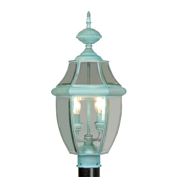 Gullette Outdoor Post Light by Three Posts