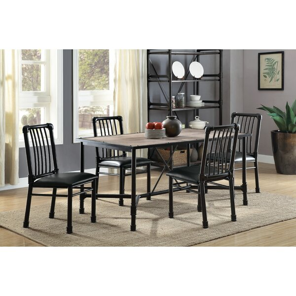 Maja 5 Piece Dining Set by 17 Stories