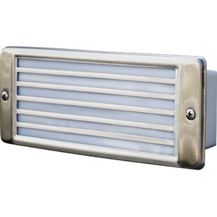 Recessed Louvered 2-Light Outdoor Flush mount By Dabmar Lighting Outdoor Lighting