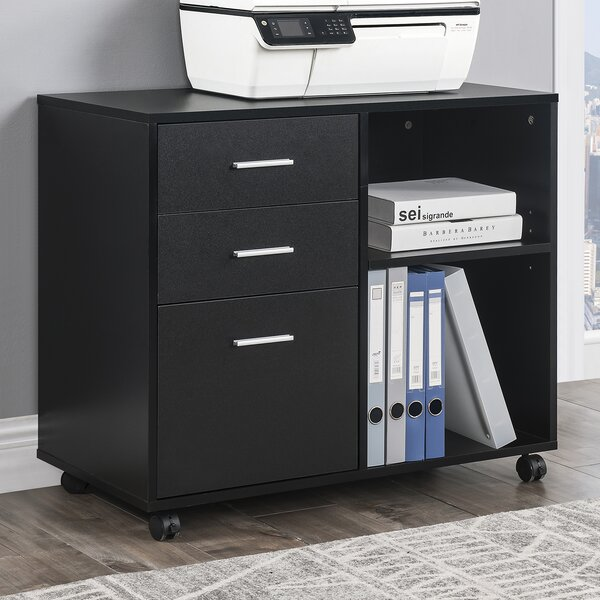 3 -Drawer Filing Storage Cabinet