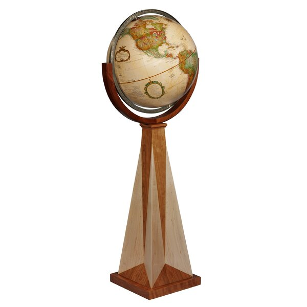 Frank Lloyd Wright Obelisk Globe by Replogle Globes
