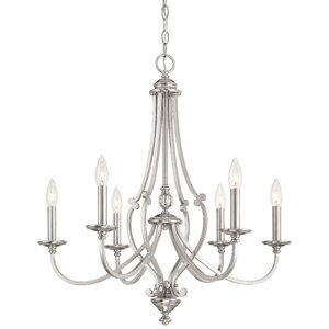 Audane 6-Light Candle-Style Chandelier