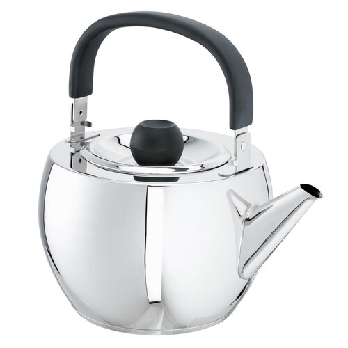 Ben 3.4L Stainless Steel Stovetop Kettle in Chrome Schulte Ufer