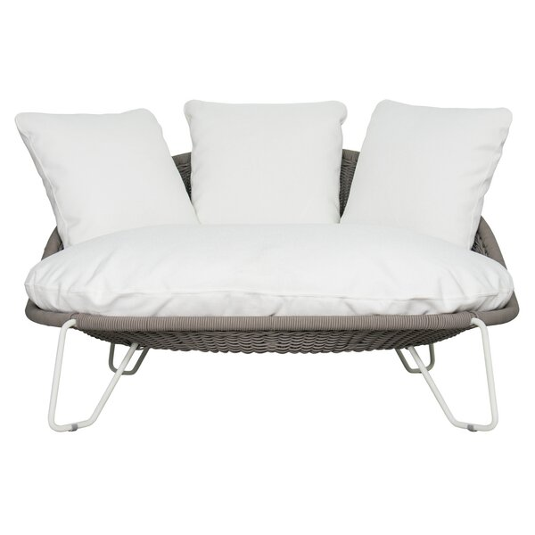 Archipelago Aegean Patio Daybed with Sunbrella Cushions by Seasonal Living