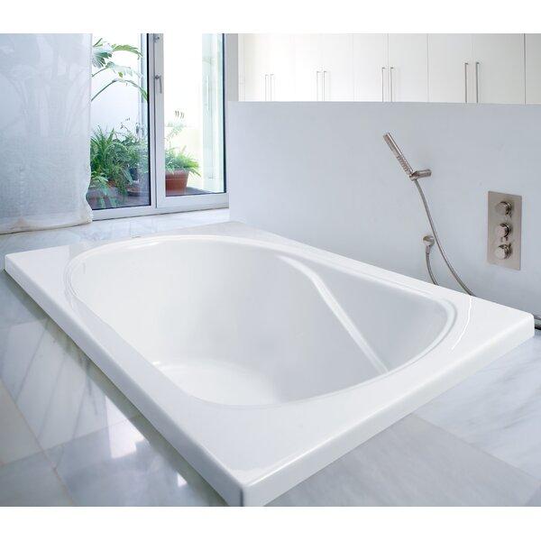Hallmark 60 x 32 Soaking Bathtub by Clarke Products
