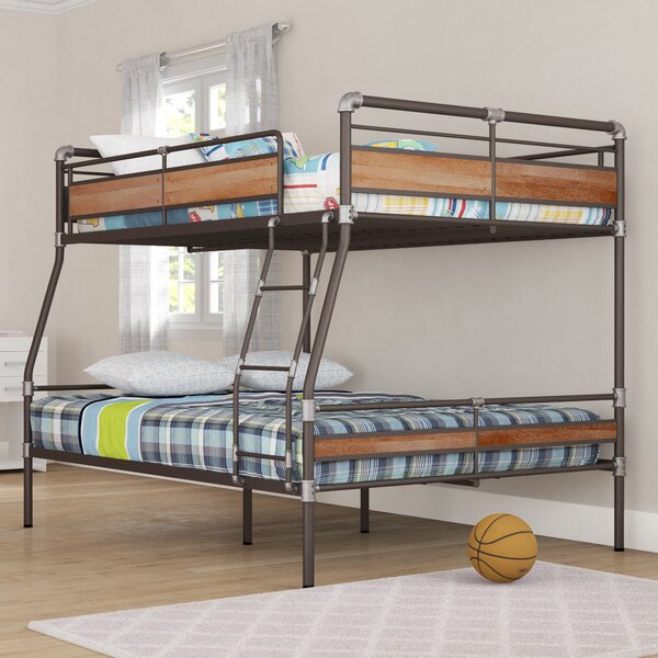 Eloy Full Over Queen Bunk Bed by Harriet Bee