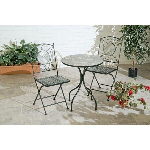Amandine 3 Piece Seating Group by Fleur De Lis Living