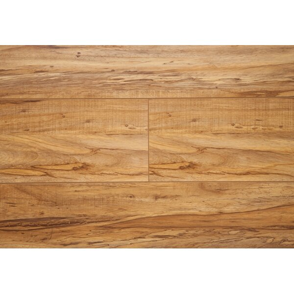 6.5 x 48 x 12mm Oak Laminate Flooring in Rustic Olive by Chic Rugz