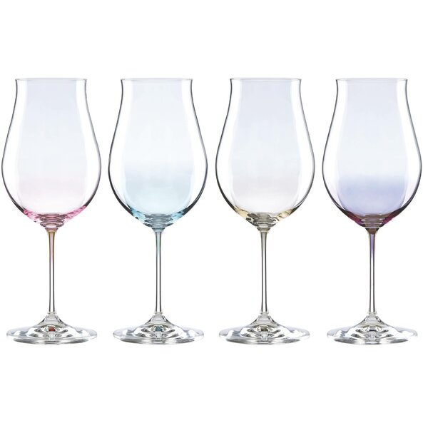 Tuscany Classics Lustre Pastel 17 oz. All Purpose Wine Glass (Set of 4) by Lenox