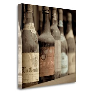 'Enoteca a Cortona No. 1' Graphic Art Print on Wrapped Canvas by Tangletown Fine Art