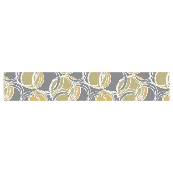 Julia Grifol Simple Circles Table Runner by East Urban Home